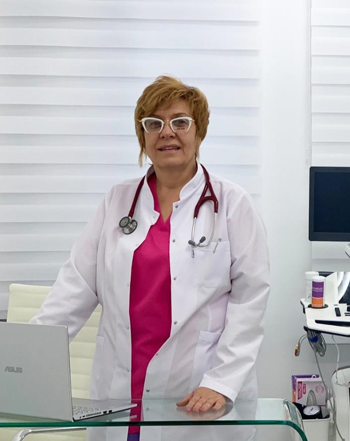 Д-р Нели Гочева, Кардиолог, Вътрешни болести, Пловдив..