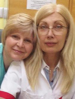 Д-р Йоанна Косева и д-р Нина Сярова